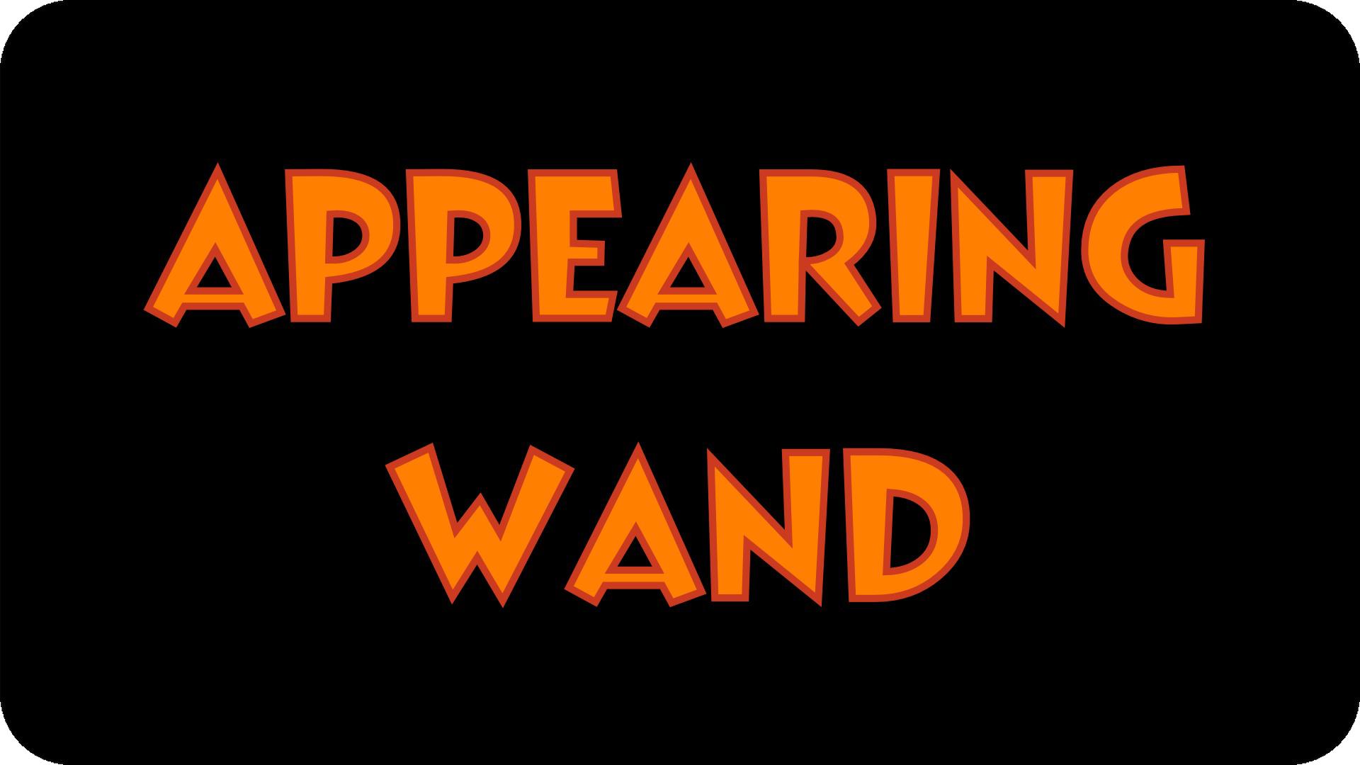 wand button cutout